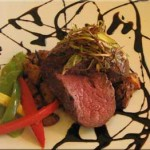Beef Tenderloin in Balsamic Reduction