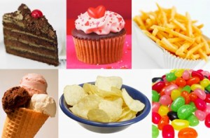 diet, unhealthy foods, lose weight