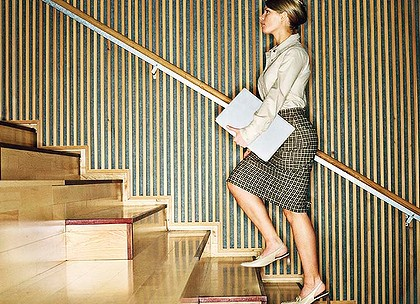 how to lose weight by walking up stairs