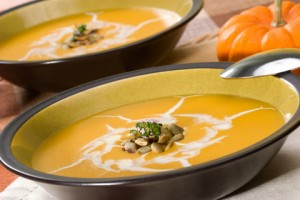 lose weight, butternut squash soup, coconut milk