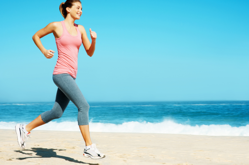 Lose Weight Running Brisk Walking